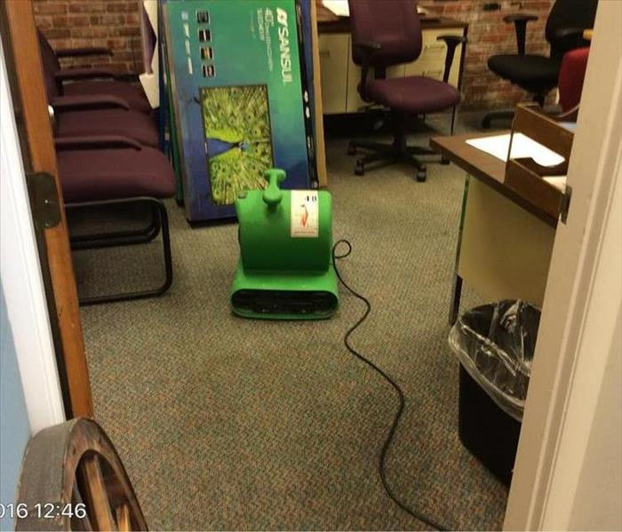 Hamilton Office Water Damage